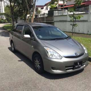 Mpv Toyota Wish Immediately Available For Rental!