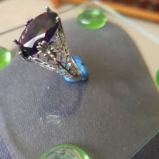 Art deco ring size 10