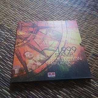 ALBUM KOLEKSI SETEM MALAYSIA 1999