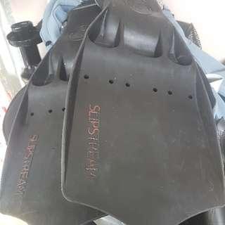 OMS Slipstream Scuba diving fins