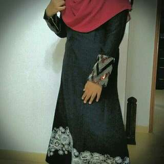 Jubah dress *price reduced*