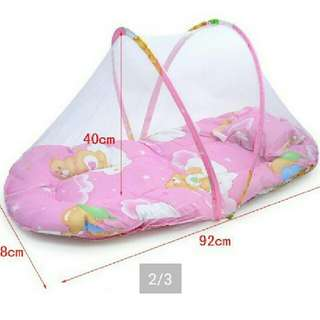 PROMO Baby Mattress with Mosquito Net