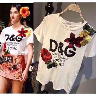 D&G t-shirt (0n hand)