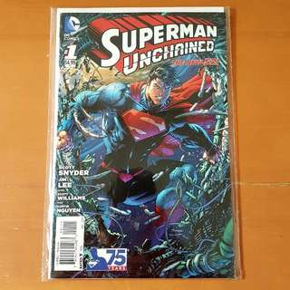 Superman Unchained Jim Lee Cover