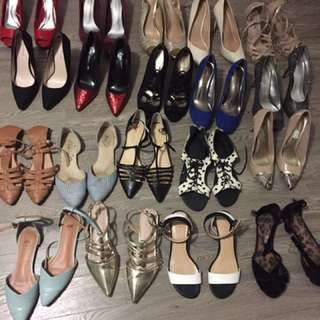 $15-$35 Lightly Worn Shoes Everything Must Go
