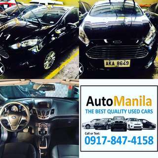 2014 Ford Fiesta Trend 4dr automatic
