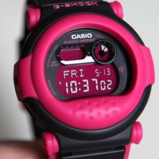 G-Shock Jason G-001 - 1BDR Black & Pink Limited Edition Rare Find