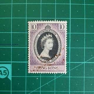 1953 伊莉莎白二世加冕紀念 新票