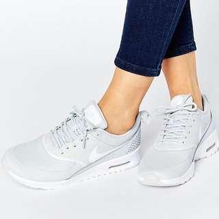 Nike Air Max Thea In Platinum White