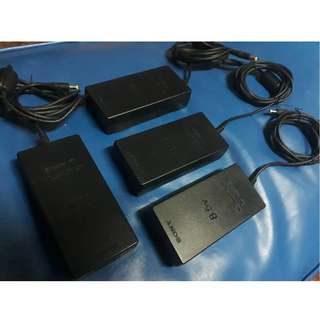 Original Playstation 2 (PS2) Slim AC Adaptor (100-220V) Auto-volt