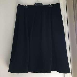 Black city chic skirt