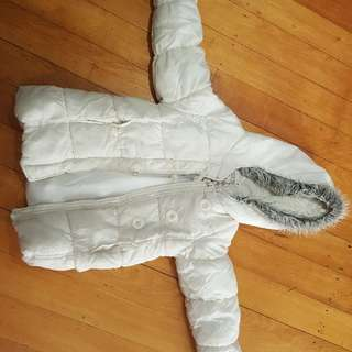 White girls jacket