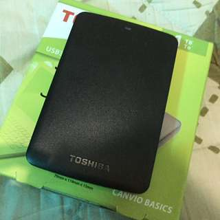Toshiba External HDD
