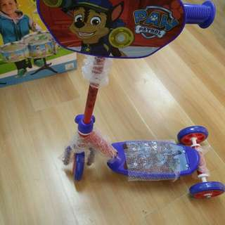 PAW PATROL SCOOTER 3 WHEELS