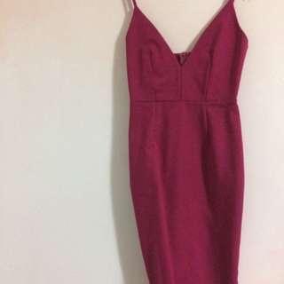 Luvalot Berry Pink Dress Size 6