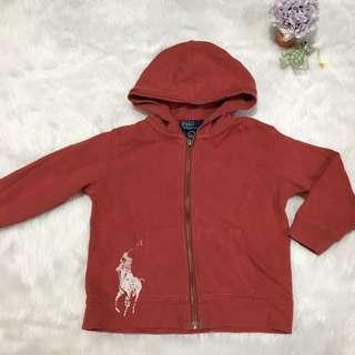 RL HOODIE Jacket (red maroon)