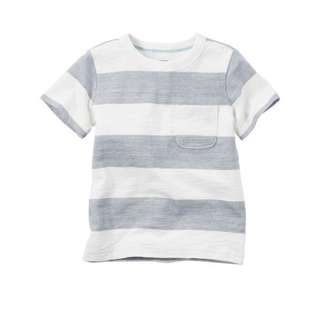 Authentic Carter's Striped Pocket Tee