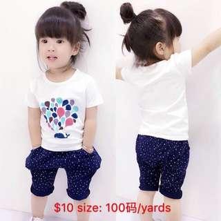 Cheap!! Full set girls apparel!!