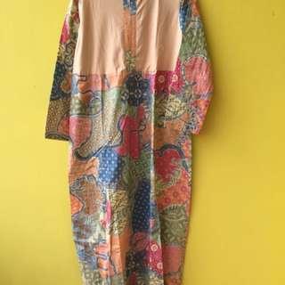 Daster batik busui friendly