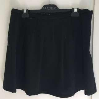 Black tokito skirt