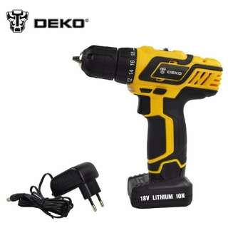 deko 18v cordless drill