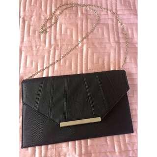 Black Colette clutch