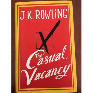 The Casual Vacancy by J.K Rowling (Hardcover)