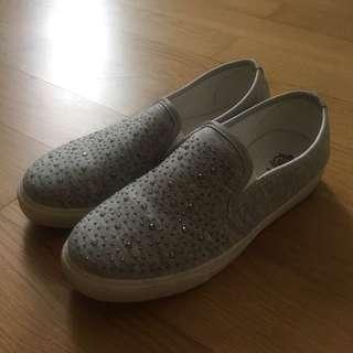 Slips-on Shoes Loafers Sepatu Wanita