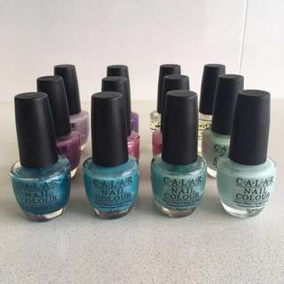 (Box of 12) Nail polish