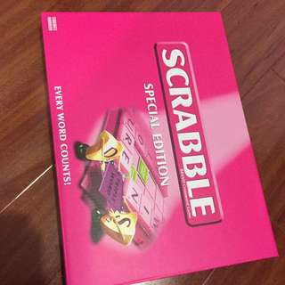 Pink Scrabble Special Edition