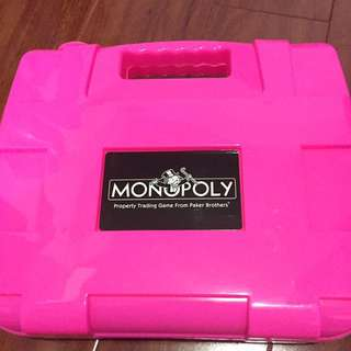 Pink Monopoly Special Edition