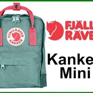 Kanken 冰霜綠 Mini後背包