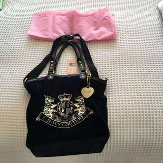 Juicy Couture authentic handbag purchased in Las Vegas. Comes with dust bag.Purchased $225.00USD