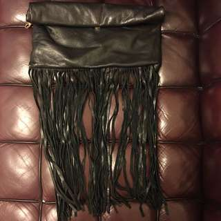 Real leather clutch bag used 真皮手拿包