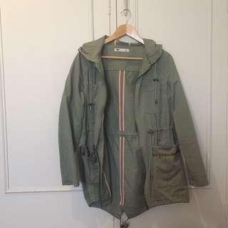 Basic khaki jacket