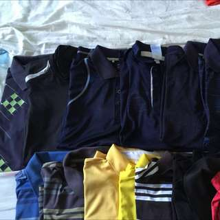 Adidas Golf / Polo Tees For Sale <UPDATED>