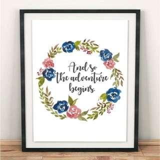 #I004 Handmade Wreath