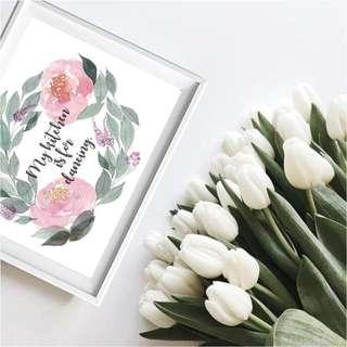 #J001 Handmade Wreath