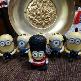 Minion Happy Meal toys 99php for everything