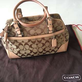 Reduced: Authentic Coach Tote Bag (small)