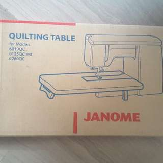 New Janome Sewing Machine Table for Quilting Not Brother, Singer