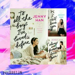 FREE !! Jenny Han Trilogy Books