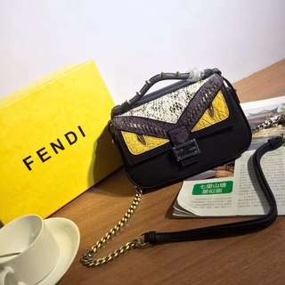FENDI Double Micro Baguette Bag