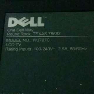 Dell LCD TV 37inch. Model W3707-c