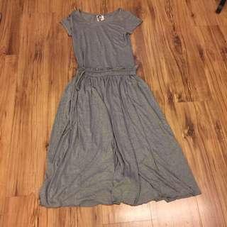 韓製造型長洋裝