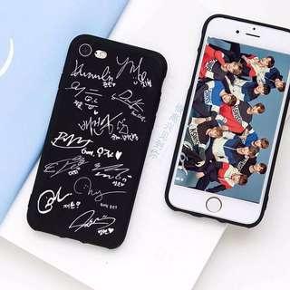 [PO] WANNA ONE MEMBER SIGNATURE PHONE CASE