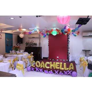 Party package event venue - Alejandra Hotel Makati City Birthday,debut