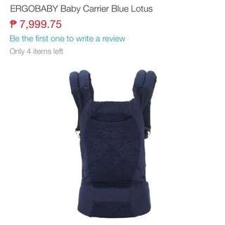 ergobaby carrier designer collection
