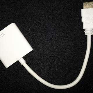 kabel HDMI to VGA Adapter