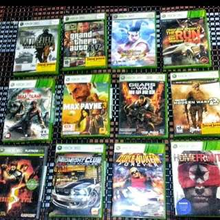 XBOX 360 games clearance